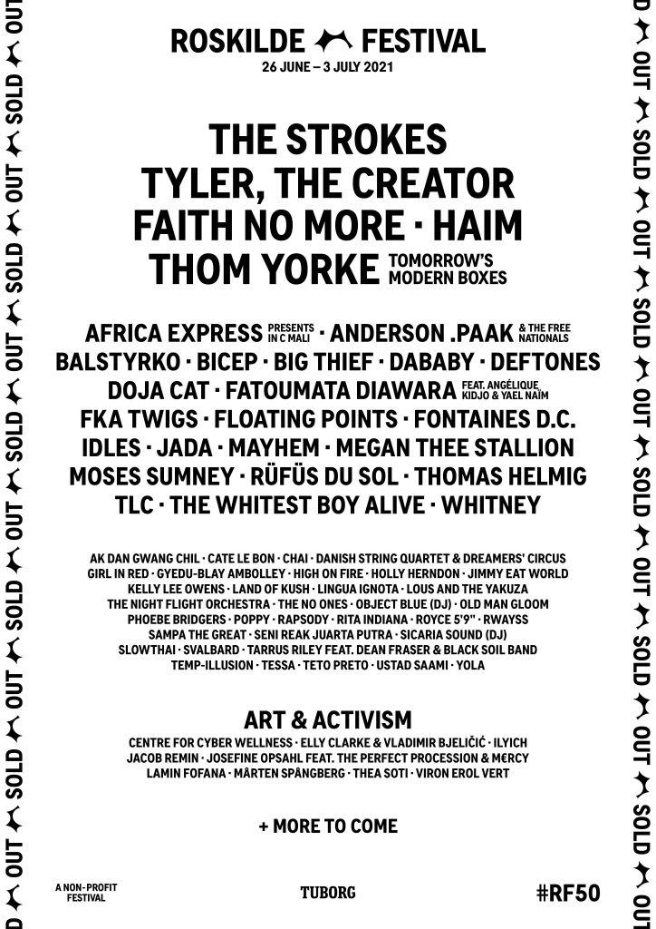 roskilde-2021-line-up-poster