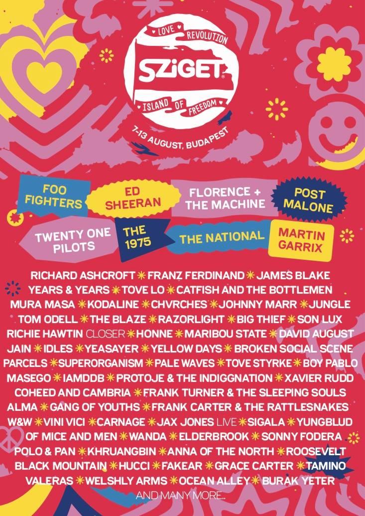 sziget-festival-2019-line-up