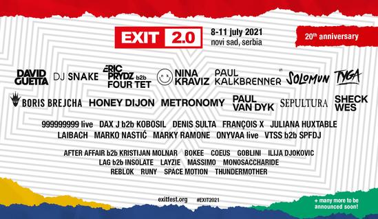 exit-festival-2021-lineup